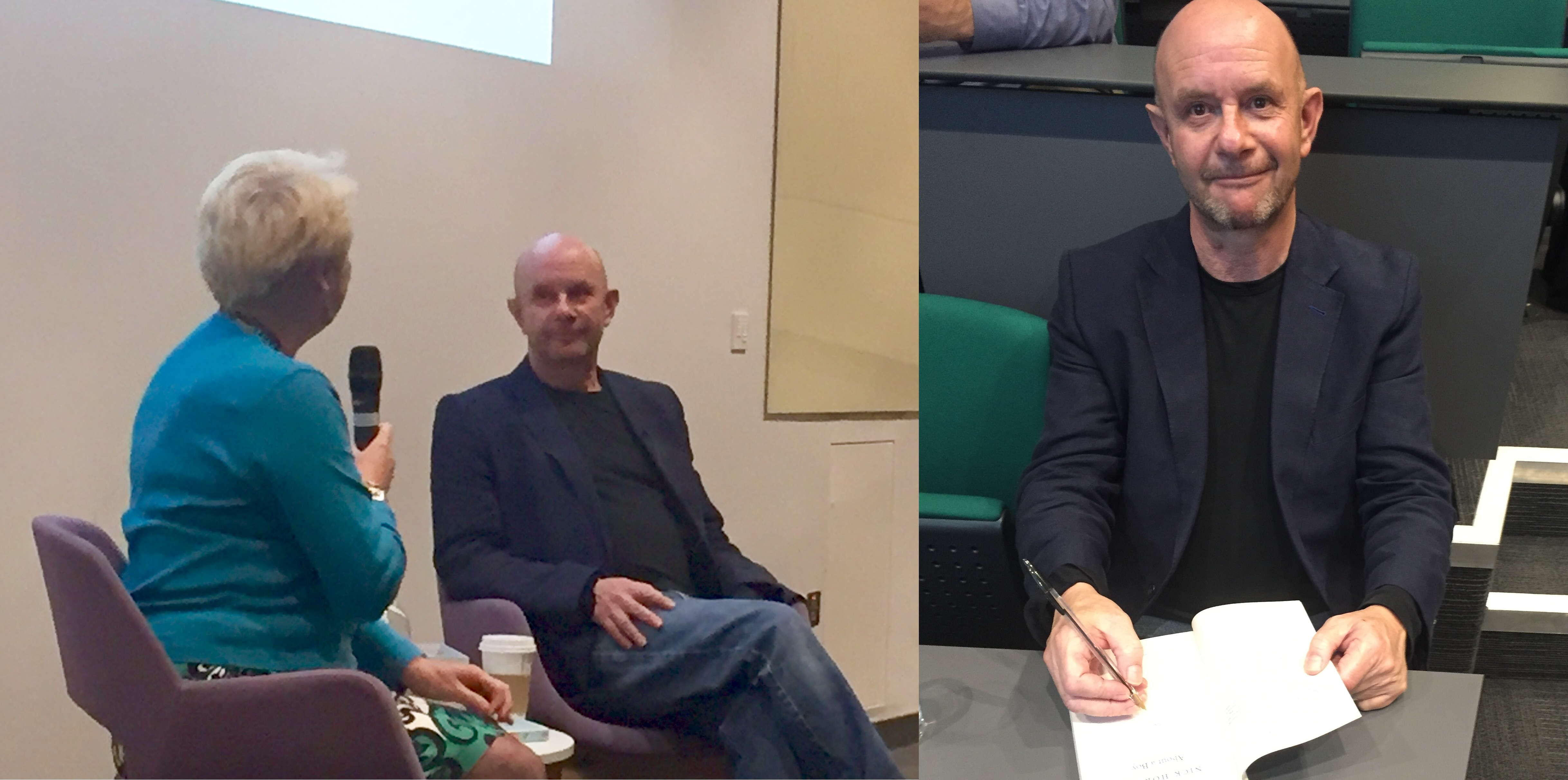 Nick Hornby visits KU for The Big Read