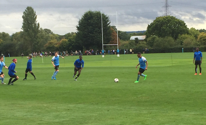 KU Men Football team draw in derby