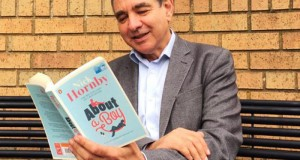 VC Julius Weinberg chose 'About a Boy' for this year's Big Read, next year he wants you to choose