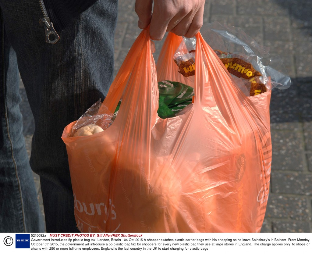 The end of the free plastic bag