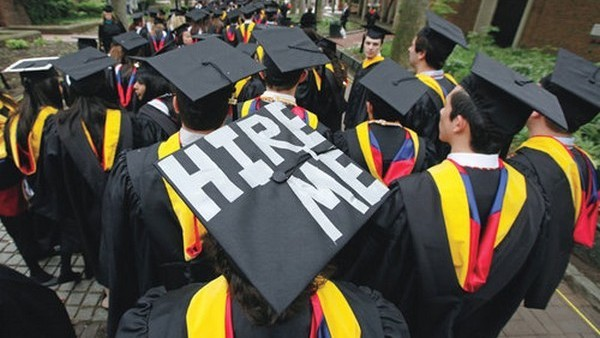 UK graduates are less likely to find a job in their field