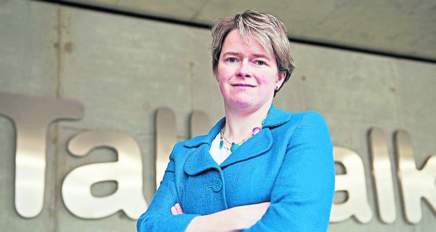 TalkTalk CEO Dido Harding has been under pressure after third cyber attack on company in less than a year