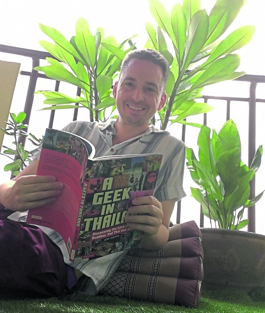"Former KU student writes book to add to his series ""A Geek In"""