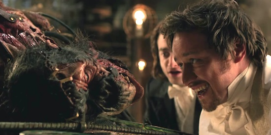 Victor Frankenstein film review