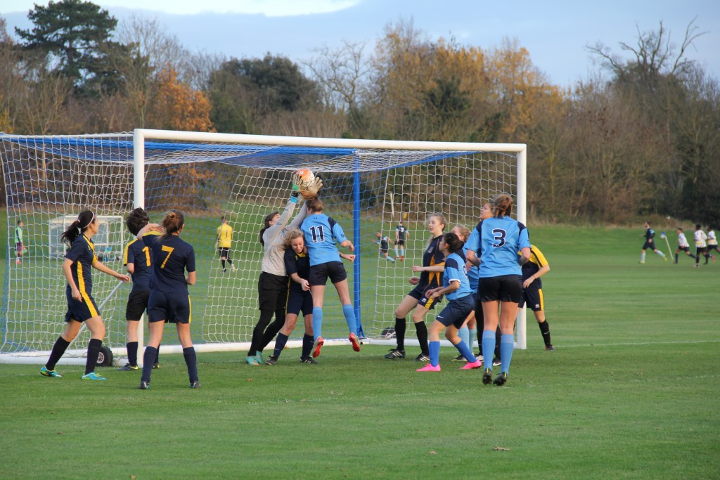 Kingston ladies climb the table in 'toughest' game yet