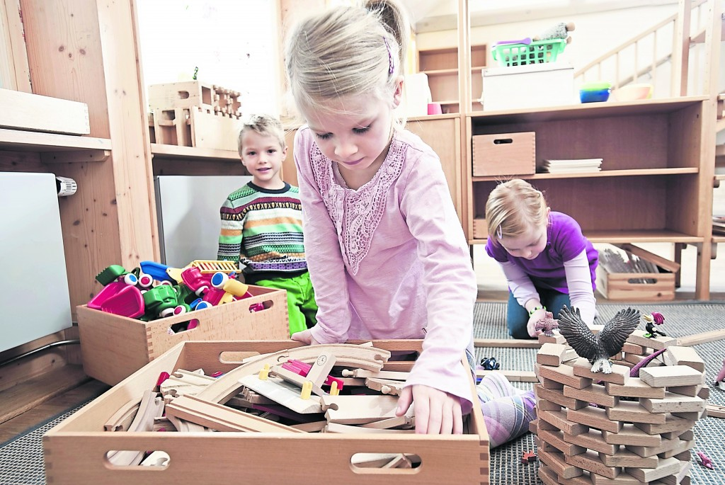 Kingston University nursery in top-up row