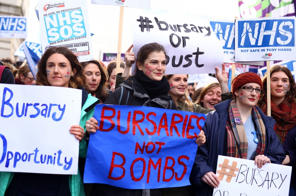 Health and social care students fight back