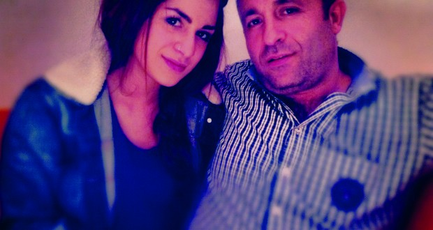 Ezgi with her father