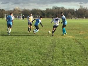 Kingston football defeat nine man Brunel