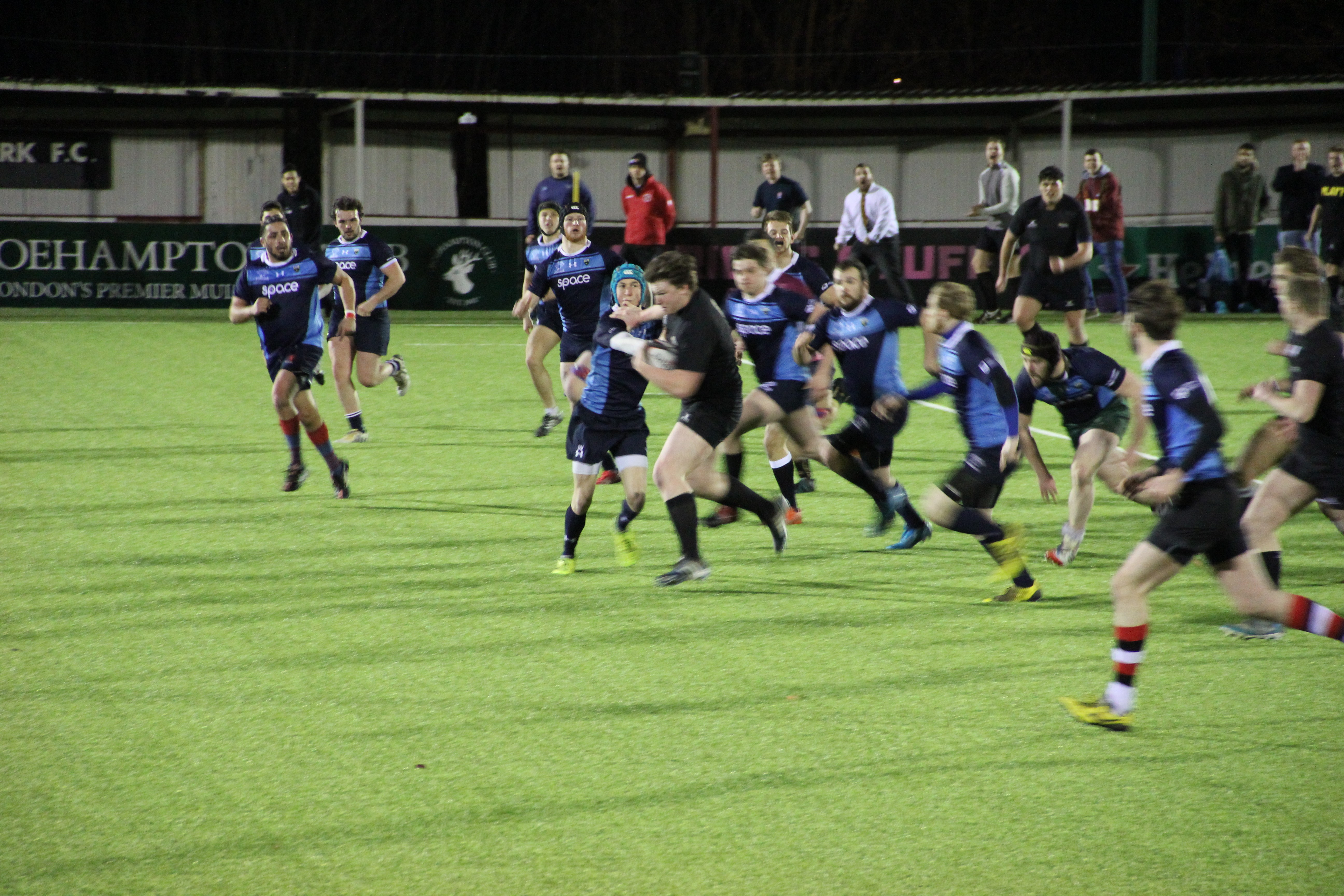 Kingston Men's rugby team face defeat