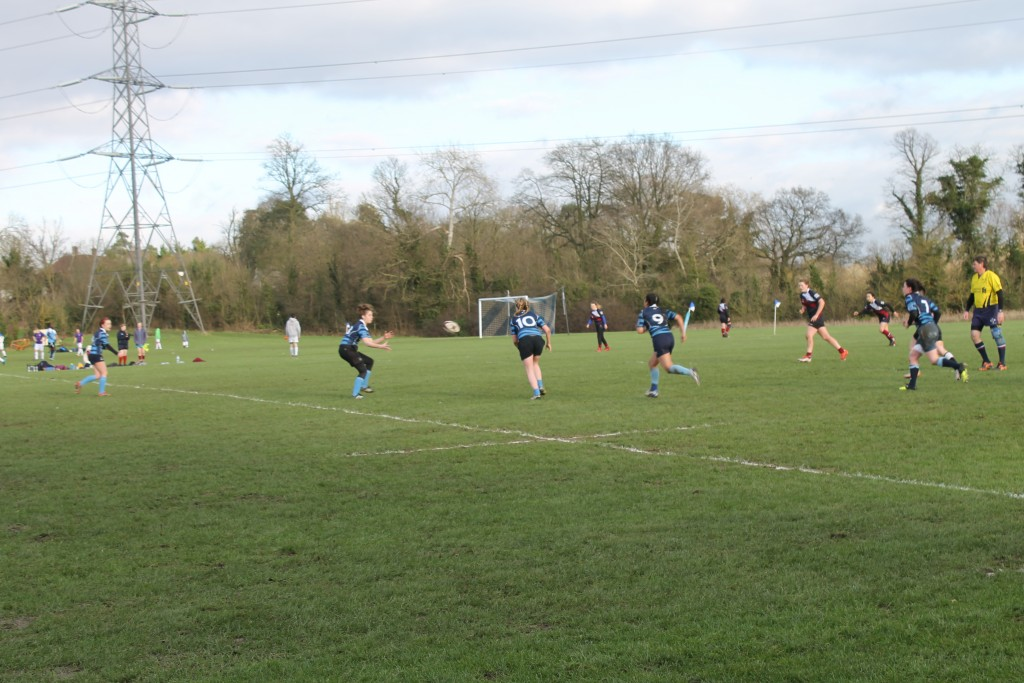 Brave Kingston University rugby girls suffer first defeat