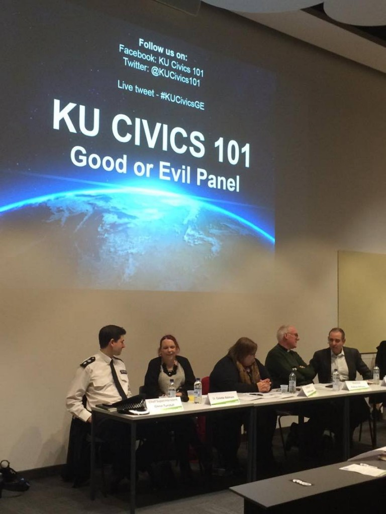 """Evil stops a debate – it shuts everything down"" – KU panel"