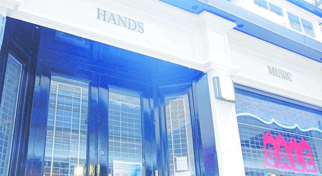 Sadness over Hands Music shop closure