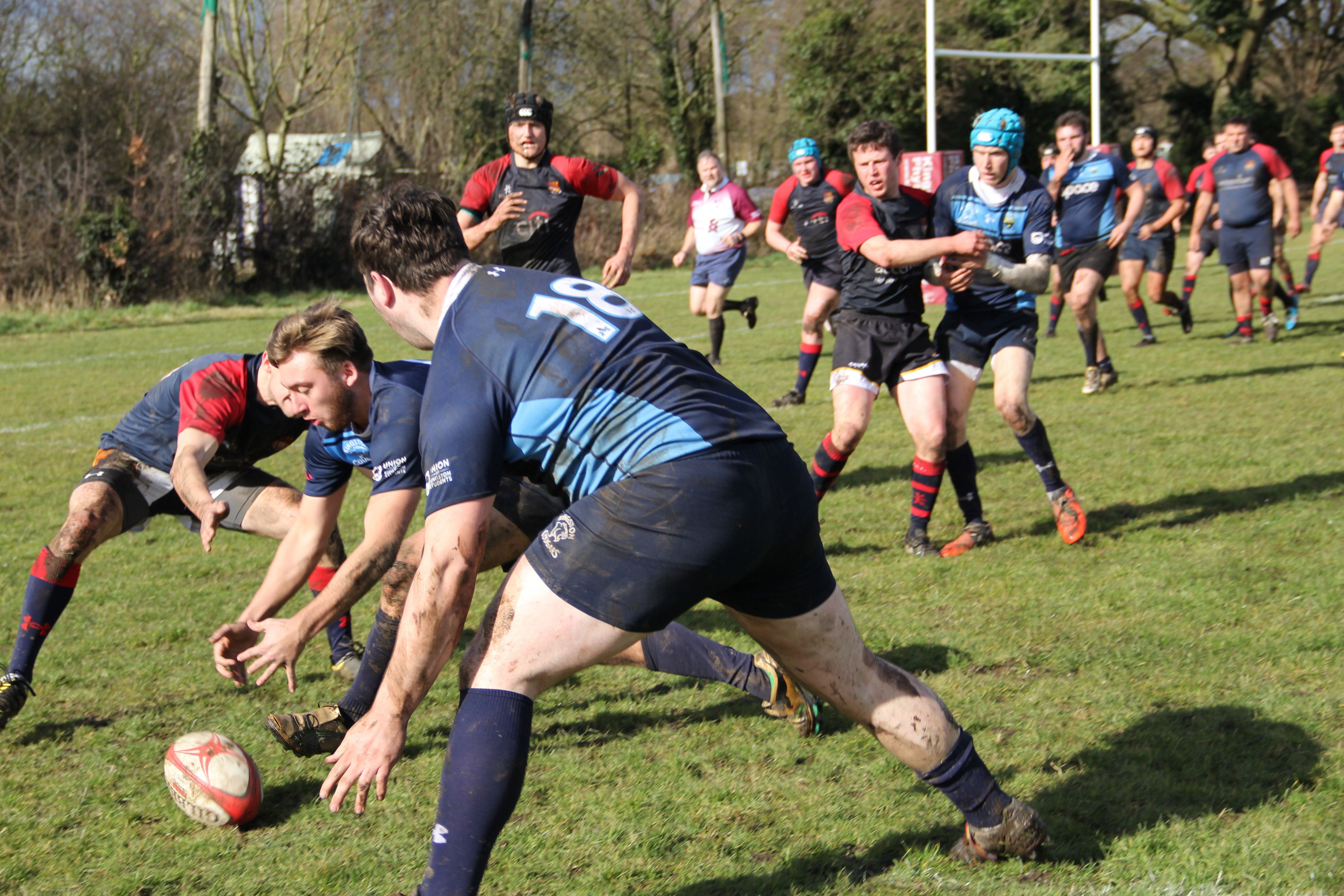 KU rugby men's miss out on cup final victory