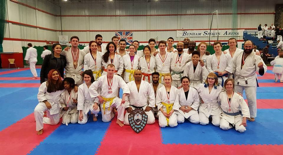 KU Jiu Jitsu club strike gold at nationals