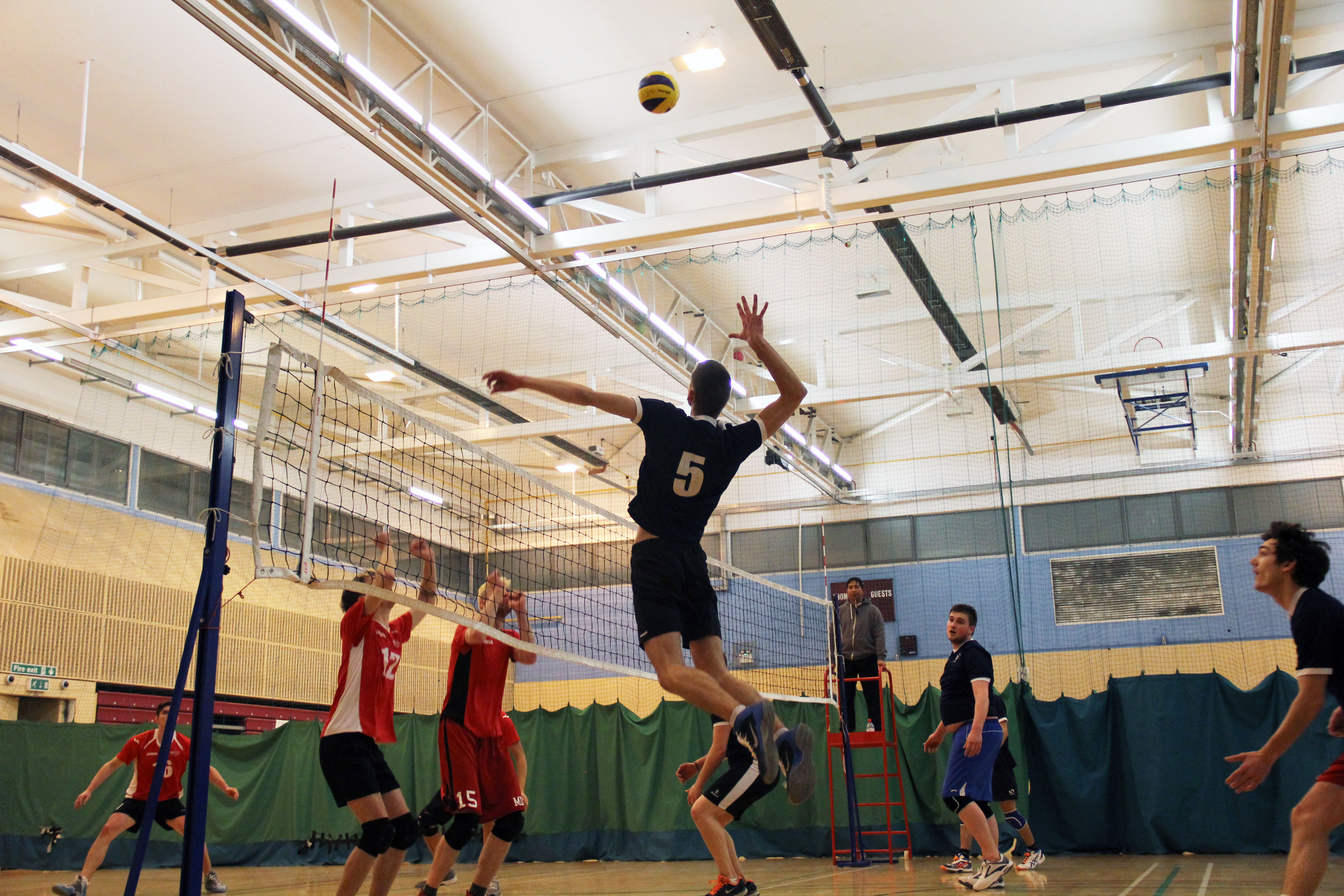 KU men's volleyball team finishes strong