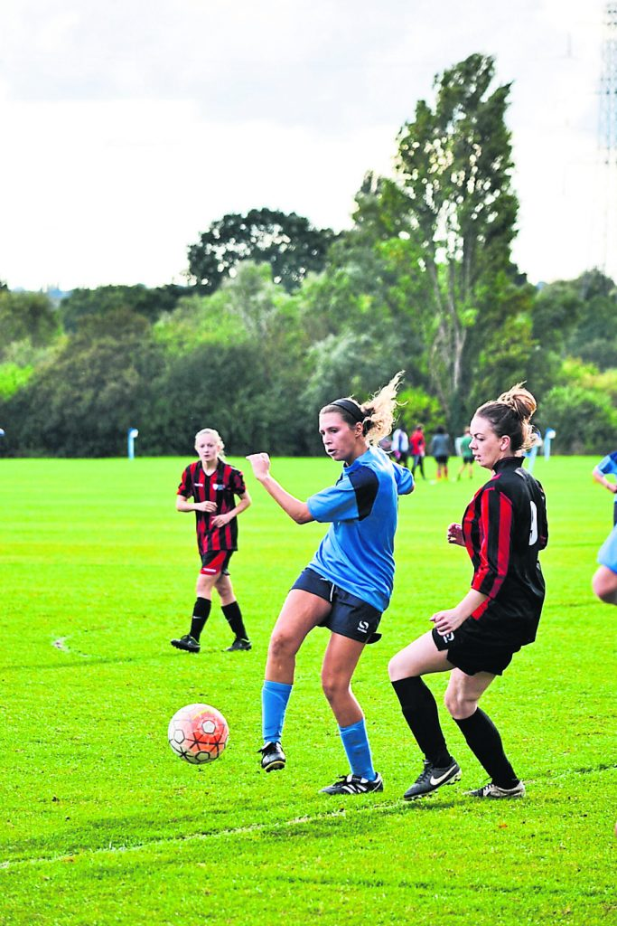 Women's football team in thrilling 3-3 draw