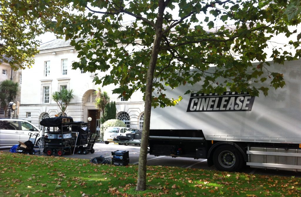 Helen McCrory filming new ITV drama, 'Fearless', in Kingston