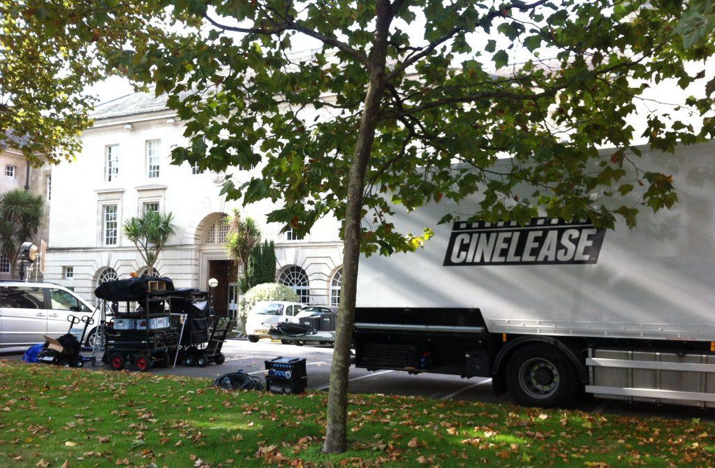Helen McCrory filming new ITV drama, 'Fearless', in Kingston