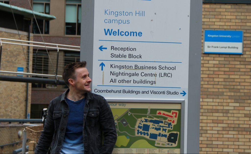 Kingston University's own Harry Potter