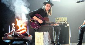James Bay on stage - Photo by: David Fisher/REX/Shutterstock