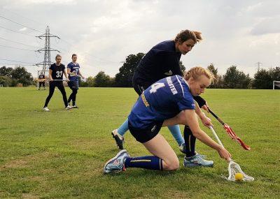 Women's captain Synne Johnsson on the attack