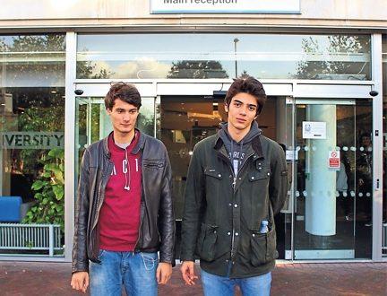Stefan Ghinea, 19 and Enver Rasid, 18 at Penrhyn Road by Kotryna Budriute