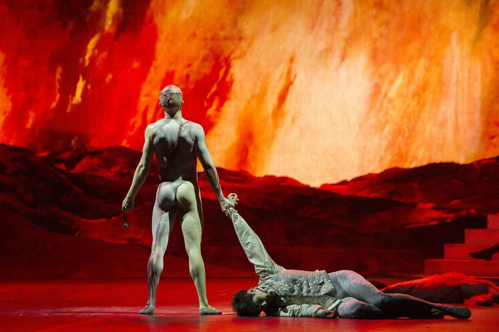 Editorial Use Only. No Merchandising Mandatory Credit: Photo by Alastair Muir/REX/Shutterstock (5673504bd) Steven McRae as The Creature, Federico Bonelli as Victor Frankenstein 'Frankenstein' Ballet choreographed by Liam Scarlett performed by the Royal Ballet at the Royal Opera House, London, UK, 3 May 2016