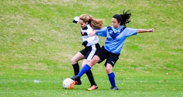 The women's football team struggled to get to grips with Essex on Wednesday                   Photo: Sofia Nasif