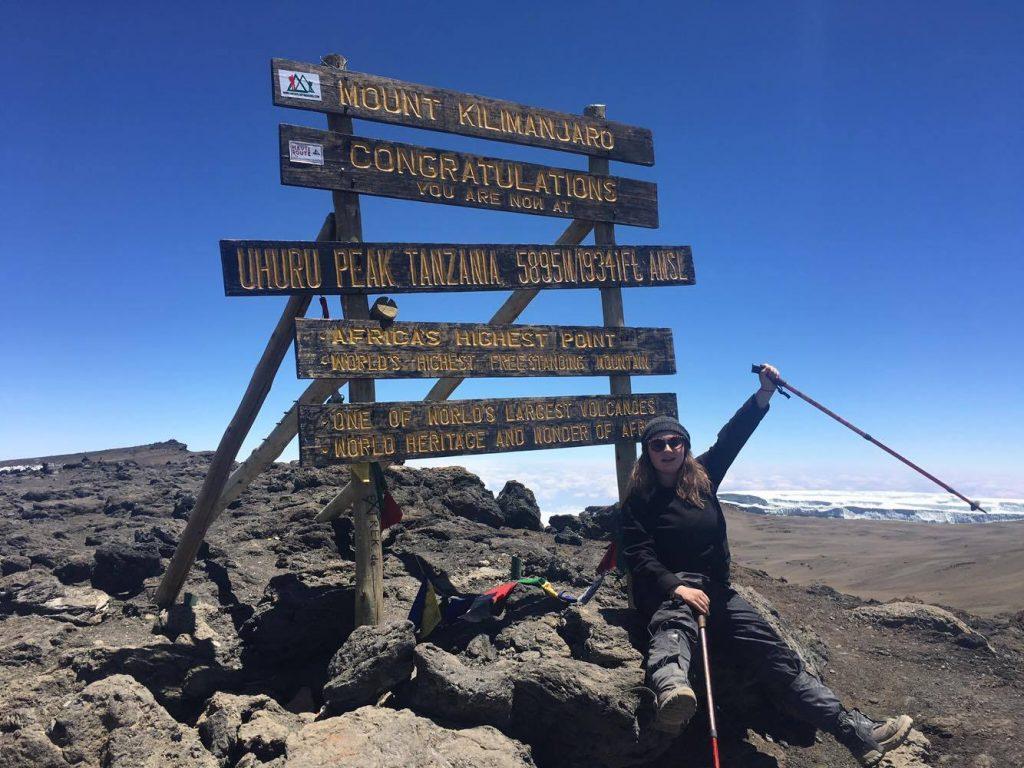 KU student braves fractured back to climb Kilimanjaro