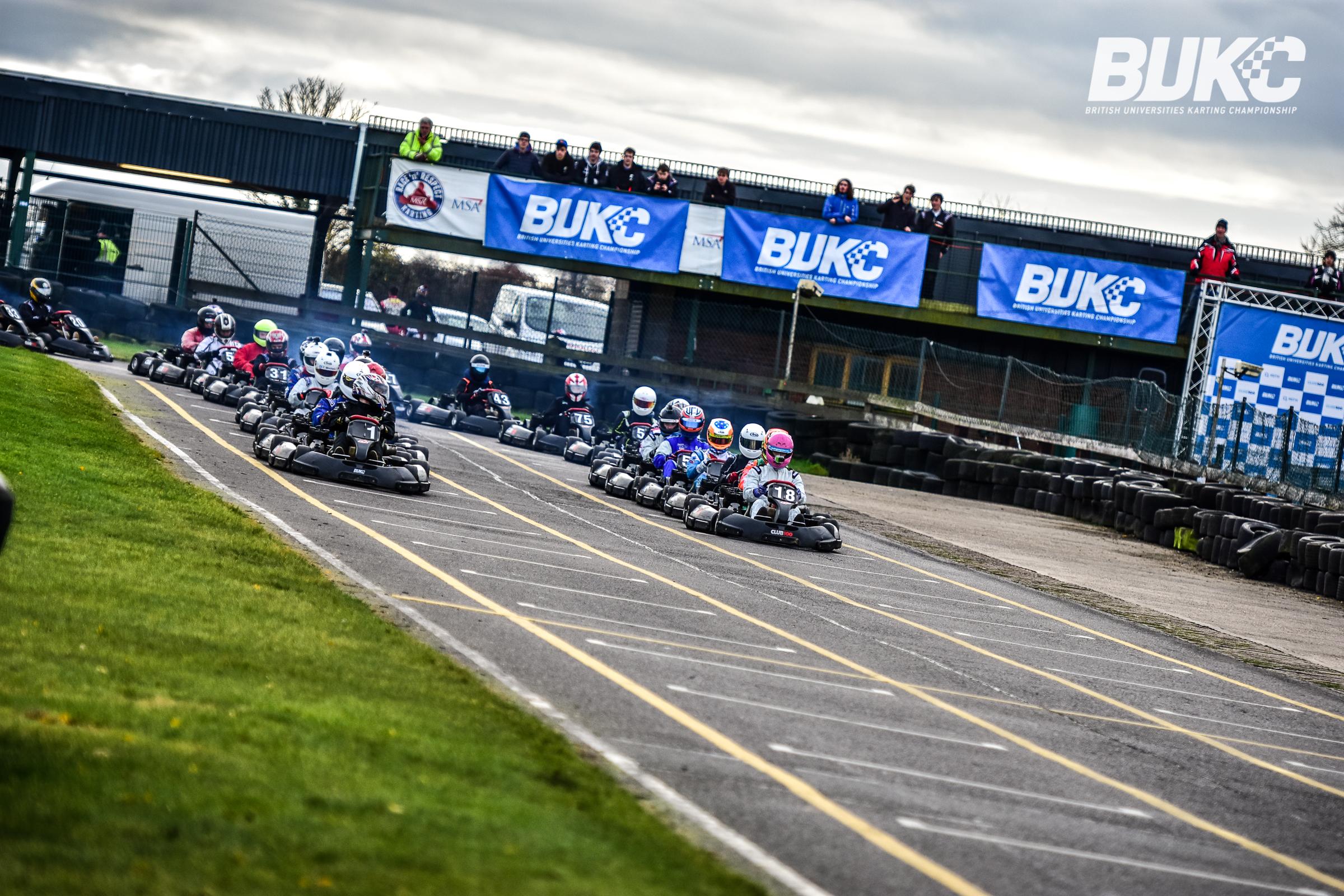KU Karting Society qualifies for British Universities Karting Championship