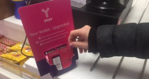 KU's catering company introduced YoYo wallet as a new method of payment  Photo by Sara Ghandour