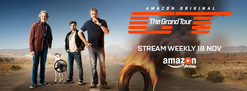 The Grand Tour: What to expect from Amazon's £160m series