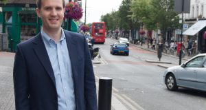 James Berry MP in Surbiton (Photo by: Rosalia Wood)