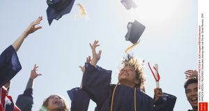 The lawyer said graduates should be reimbursed for their loans Mandatory Credit: Photo by OJO Images/REX/Shutterstock (1947838a) MODEL RELEASED Graduates tossing caps into the air, Santa Monica, USA VARIOUS