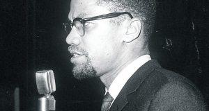 Malcolm X - 1979    Photo credit: David Muscroft/REX