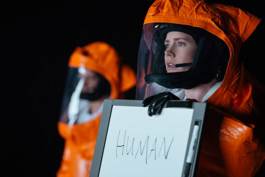 New sci-fi drama Arrival is stunning and intelligent – review