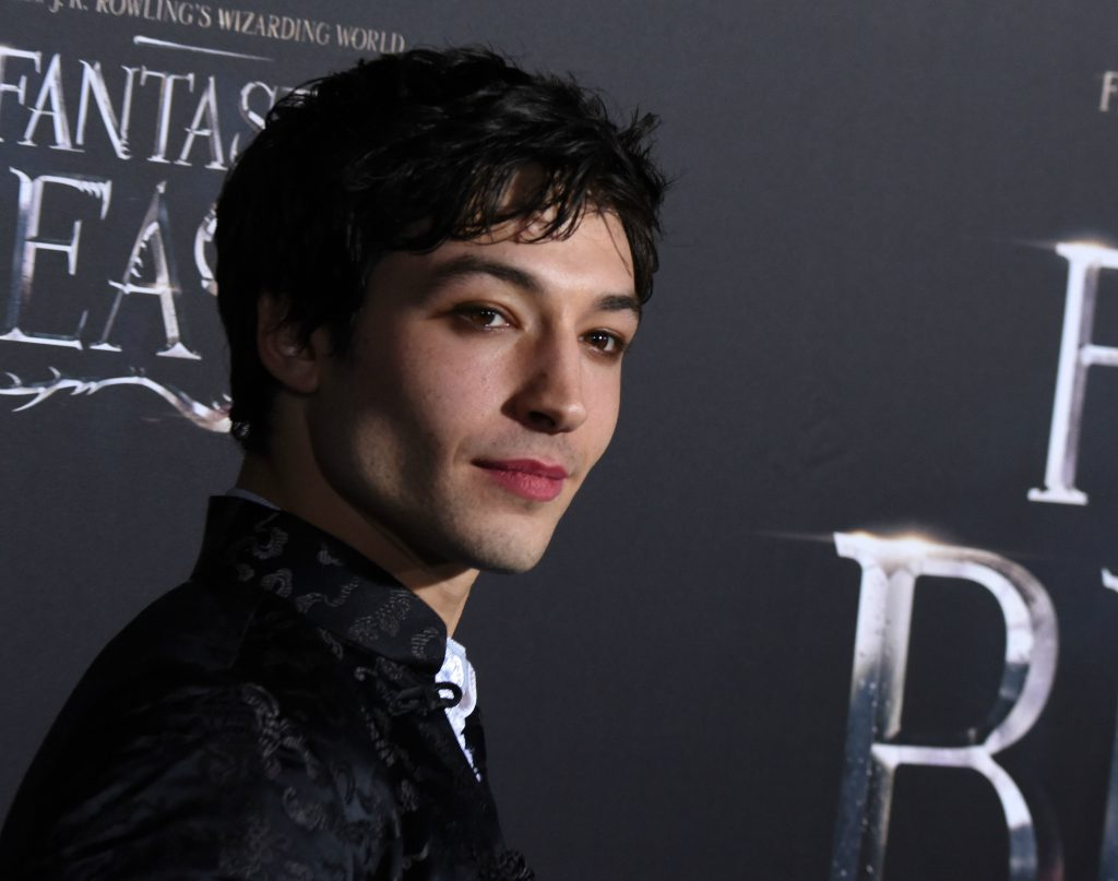 Ezra Miller at the NYC premiere of Fantastic Beasts (Photo by Stephen Lovekin)