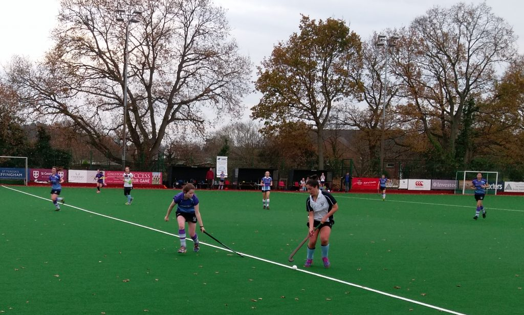 KU hockey ladies top of the tree for Christmas after UCL draw