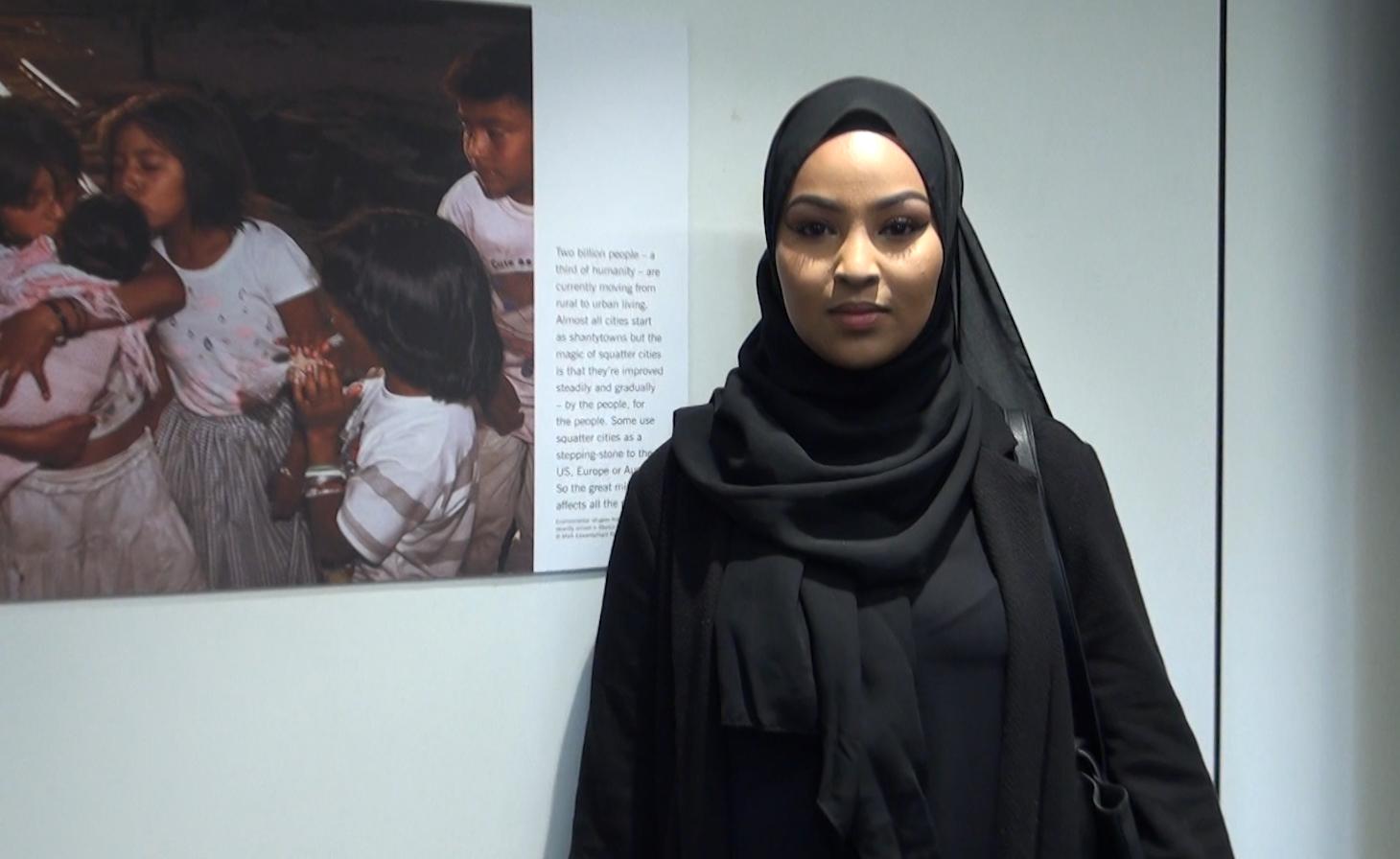 Watch modern hijabi fashion in action on the corridors of KU – Video