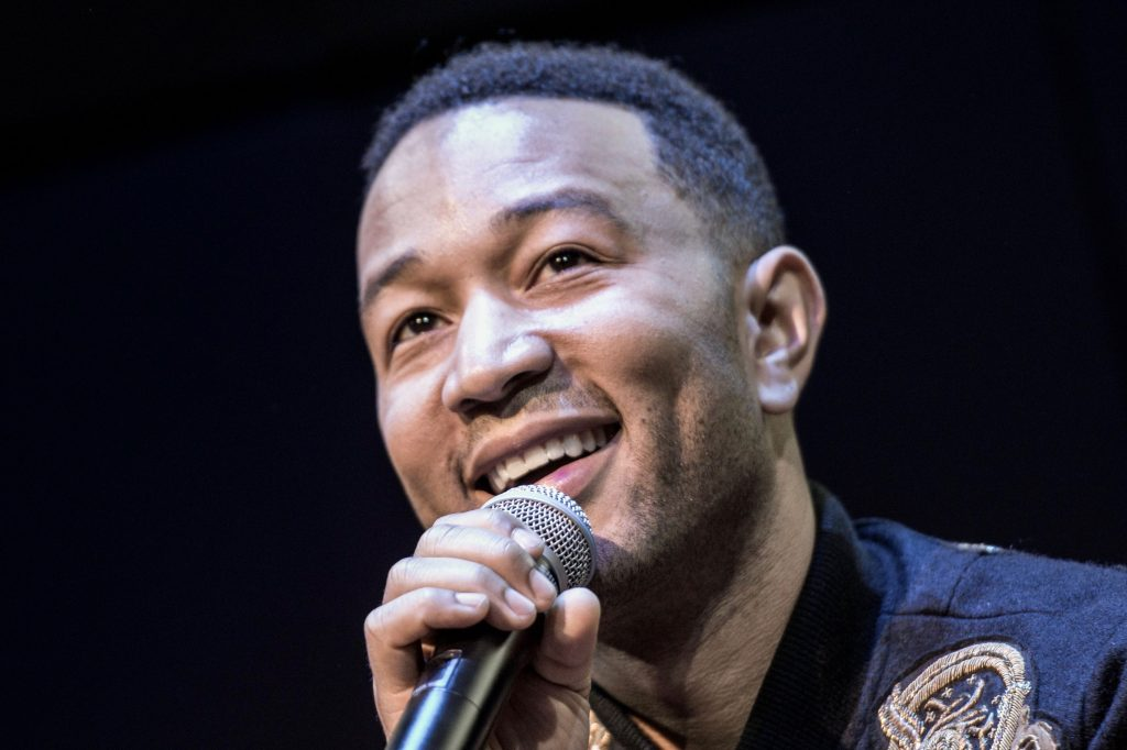 John Legend shines the light on shades of pain in new album Darkness and Light