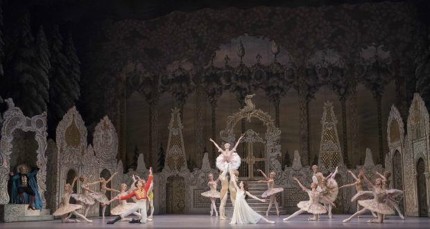 Artists of the Royal Ballet in The Nutcracker. Photo credit: Rex Features