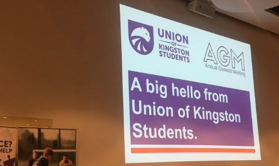 The Union of Kingston Students may schedule a second AGM due to unresolved motions