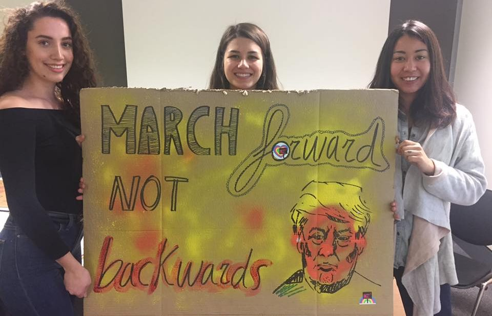KU societies invite all to attend 'Women's March on London' this Saturday