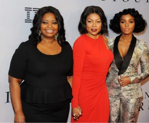 The Hidden Figures women dazzle on the red carpet promoting the film. Photo by Broadimage/REX/Shutterstock