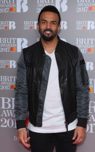 Craig David performed his hit single Nothing Like This at the nominations awards. Mandatory Credit: Photo by David Fisher/REX/Shutterstock (7869387ar)