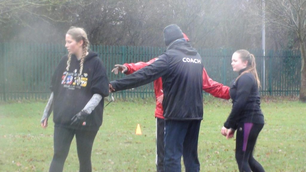 Kingston Cougars: First women's American football taster session