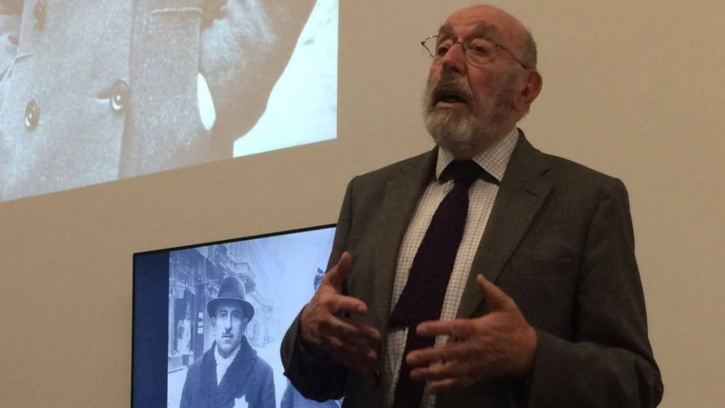 Holocaust survivor speaks at KU about the evil of ethnic discrimination