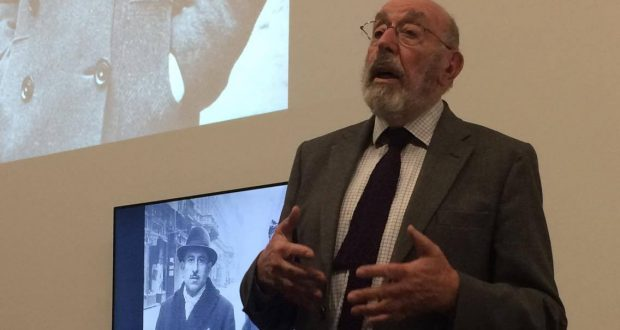 John Dobai shared his incredible story at Kingston University. Photo: Iris Christine Schiefloe