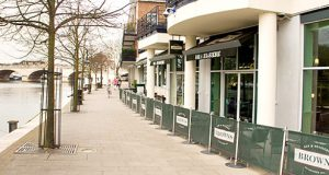 Brown's Brasserie is located in Kingston town centre with a view of the Thames. Photo Credit: Grace McGachy